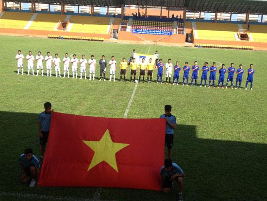 Vòng 2 bảng B giải bóng đá hạng Ba Quốc Gia 2015: Trẻ TP Hồ Chí Minh có 3 điểm quý giá